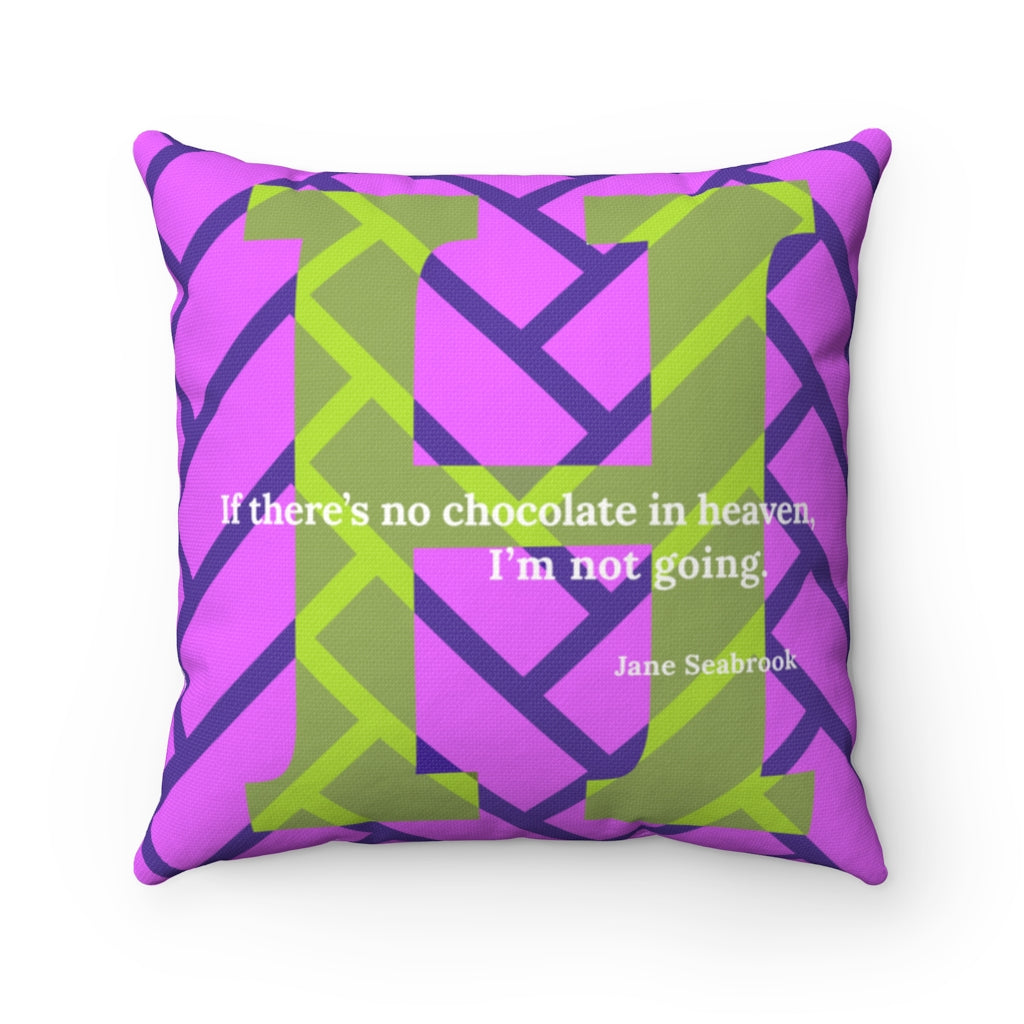Heavenly Herringbone - pillow