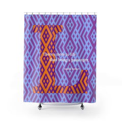 Lattice Life - shower curtain