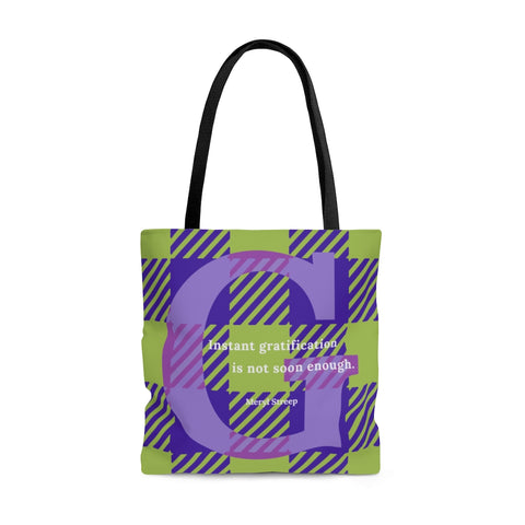 Gingham Gratification - tote bag