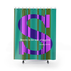 Striped Soul - shower curtain