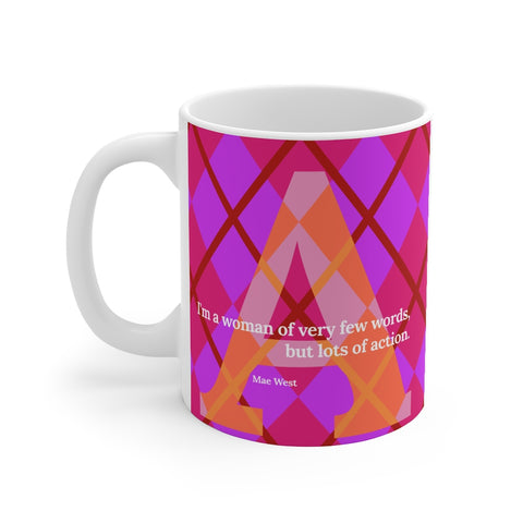 Action Argyle - mug