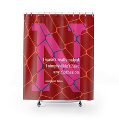 Naked Net - shower curtains