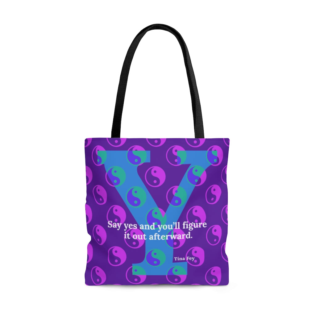 Yes Yin Yes Yang - tote bag