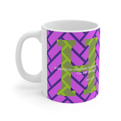 Heavenly Herringbone - mug