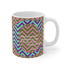 Confident Chevron - mug
