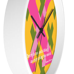 X - Expecting Excellence - clock