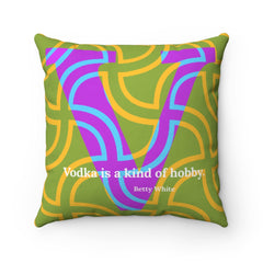 Vermicular Vodka - pillow