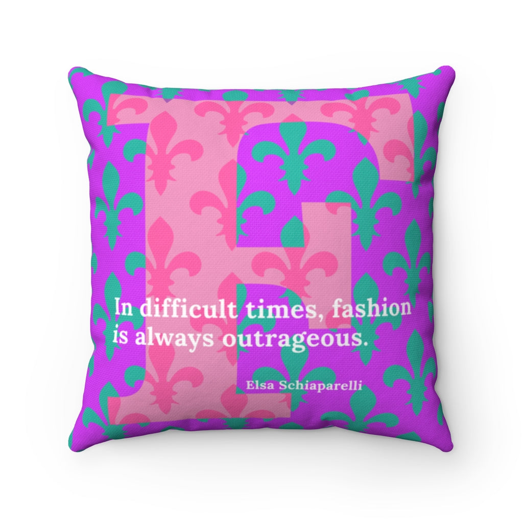 Fleur-de-lis Fashion - pillow