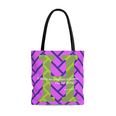 Heavenly Herringbone - tote bag