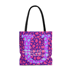 Uniquely Undirectional - tote bag