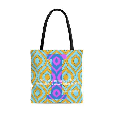 Imitation Ikat - tote bag