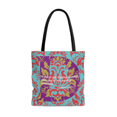 Decisive Damask - tote bag
