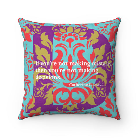 Decisive Damask - pillow