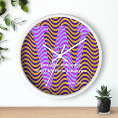 Wild Waves - clock