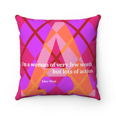 Action Argyle - Pillow