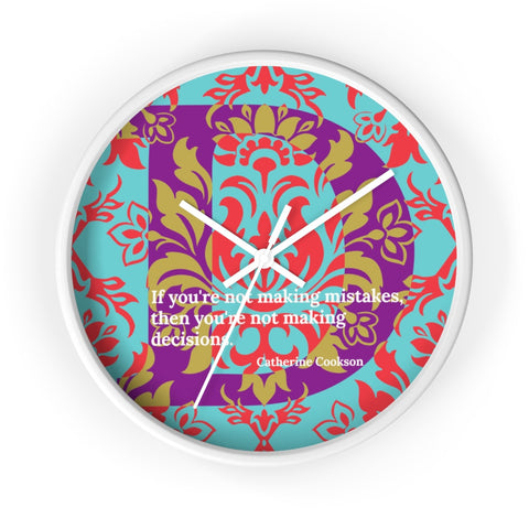 Decisive Damask - clock