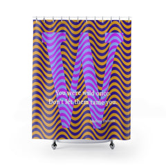 Wild Waves - shower curtains