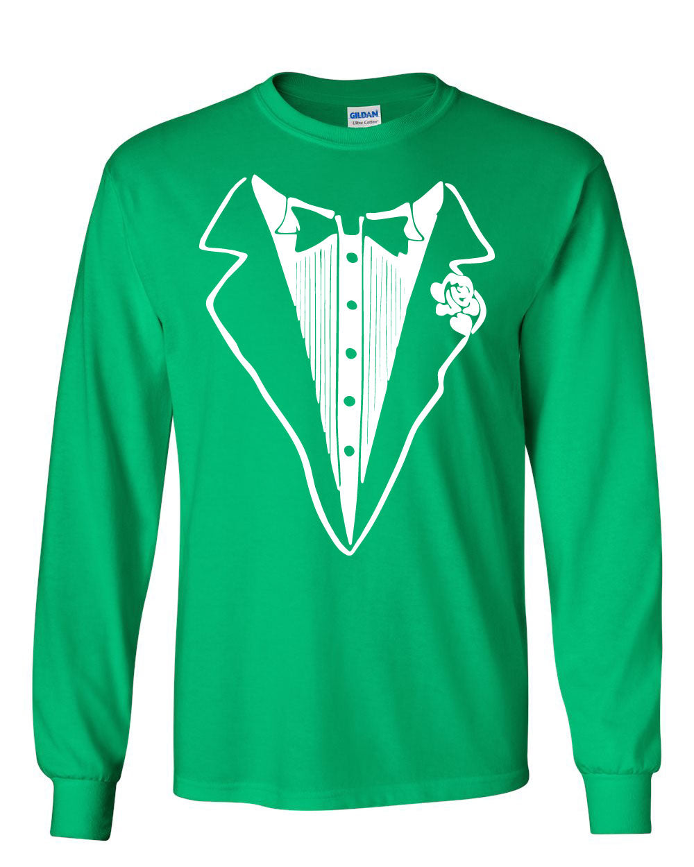 Tuxedo Funny Long Sleeve T-Shirt Tux Bachelor Party Wedding Groom | eBay