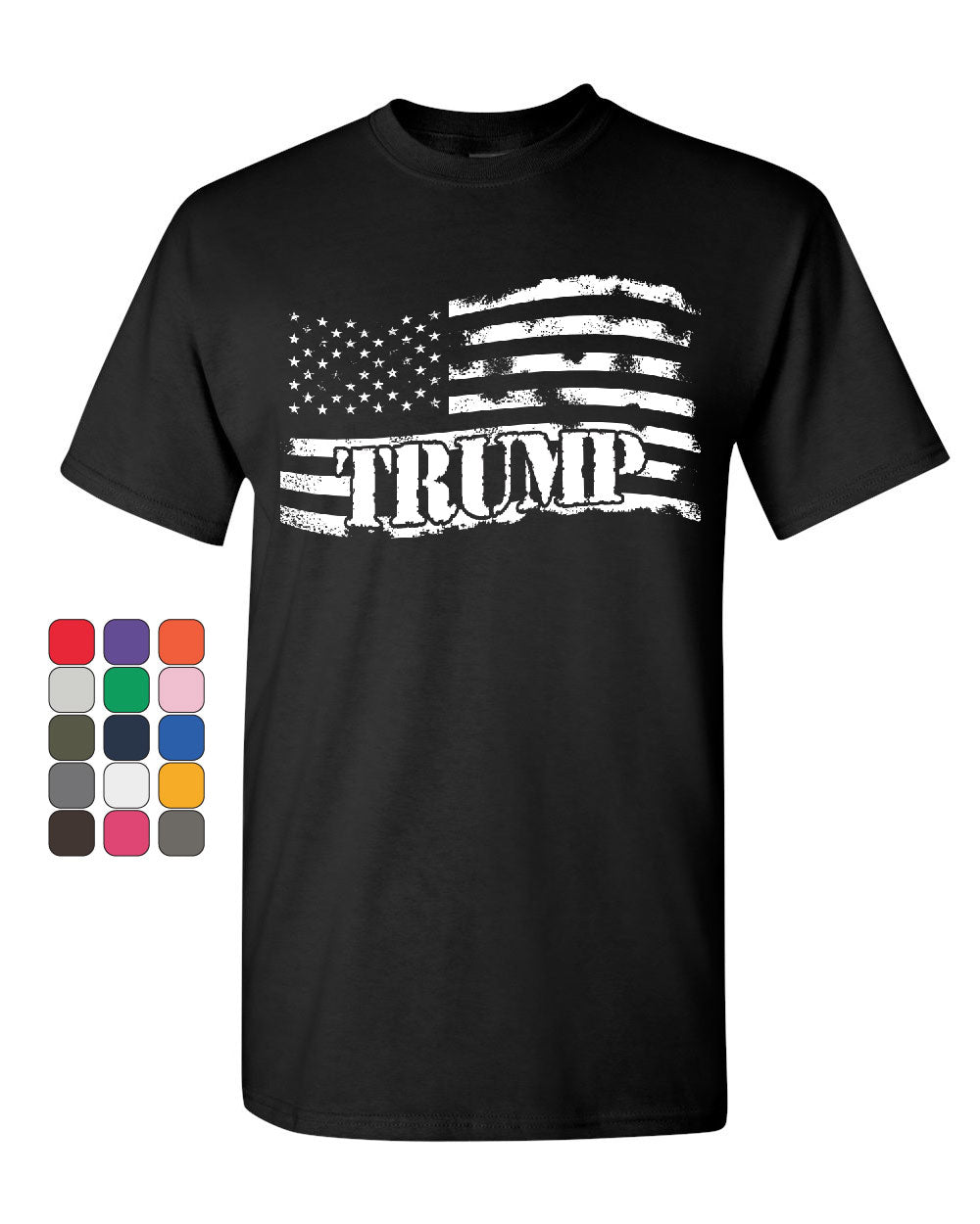9351974a41f03e Donald Trump Flag MAGA T-Shirt Make America Great Again Mens Tee Shirt