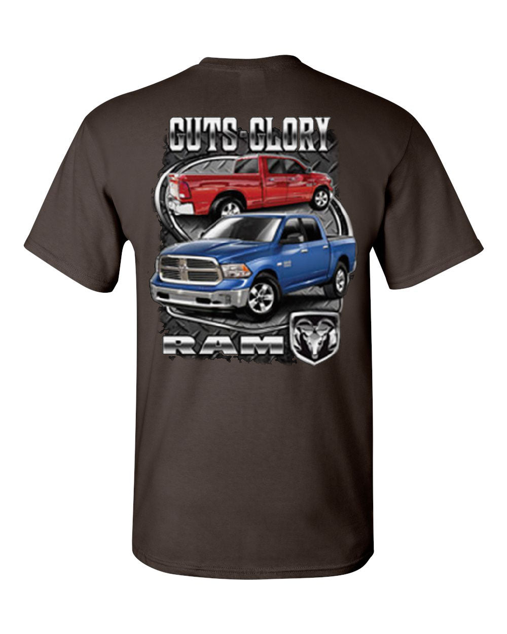Dodge Ram Guts And Glory T Shirt Dodge Truck Licensed Tee