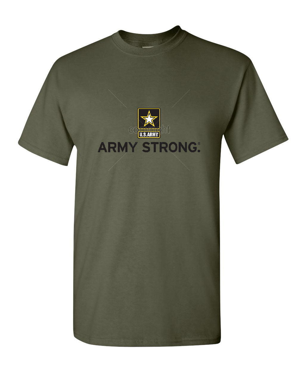 Army strong t shirt united states army military soldier for Military t shirt companies