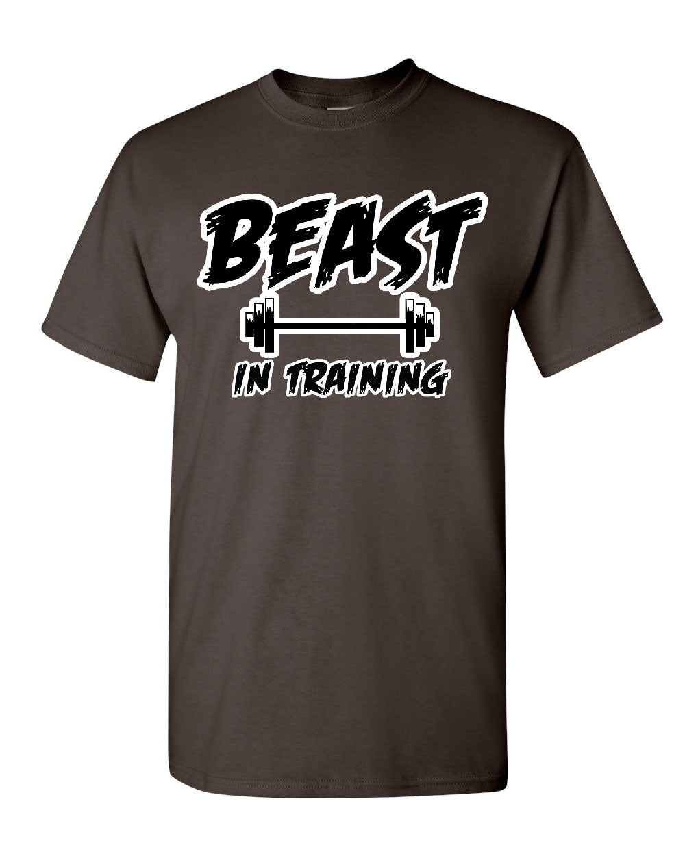 Beast in training t shirt funny gym workout fitness tee for T shirts for gym workout