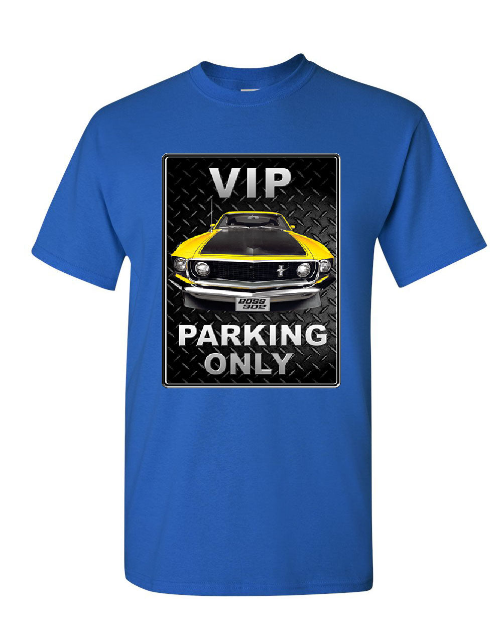Ford Mustang Vip Parking Only T Shirt Yellow
