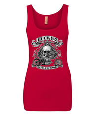 Lucky 7 Bikes Booze Broads Tank Top Live To Ride Route 66 Top - Tee Hunt - 9
