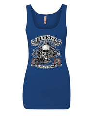 Lucky 7 Bikes Booze Broads Tank Top Live To Ride Route 66 Top - Tee Hunt - 10