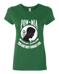 POW MIA You Are Not Forgotten Cotton T-Shirt Patriotic - Tee Hunt - 8