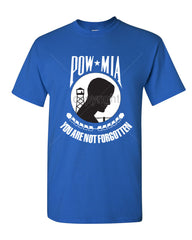 POW MIA You Are Not Forgotten T-Shirt Patriotic Tee Shirt - Tee Hunt - 4