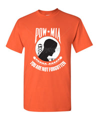 POW MIA You Are Not Forgotten T-Shirt Patriotic Tee Shirt - Tee Hunt - 7