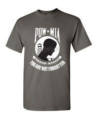 POW MIA You Are Not Forgotten T-Shirt Patriotic Tee Shirt - Tee Hunt - 3
