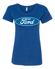 Licensed Ford Logo T-Shirt Truck Mustang F150 Muscle Car Tee Shirt - Tee Hunt - 4