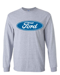 Licensed Ford Logo Long Sleeve T-Shirt Truck Mustang F150 Muscle Car - Tee Hunt - 4