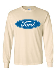 Licensed Ford Logo Long Sleeve T-Shirt Truck Mustang F150 Muscle Car - Tee Hunt - 9