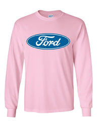 Licensed Ford Logo Long Sleeve T-Shirt Truck Mustang F150 Muscle Car - Tee Hunt - 11