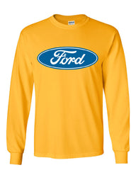 Licensed Ford Logo Long Sleeve T-Shirt Truck Mustang F150 Muscle Car - Tee Hunt - 13