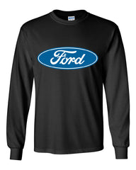 Licensed Ford Logo Long Sleeve T-Shirt Truck Mustang F150 Muscle Car - Tee Hunt - 2