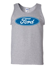 Licensed Ford Logo Tank Top Truck Mustang F150 Muscle Car - Tee Hunt - 4