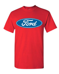 Licensed Ford Logo T-Shirt Truck Mustang F150 Muscle Car Tee Shirt - Tee Hunt - 9