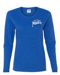 Smoky Mountain Moonshine Long Sleeve T-Shirt Tennessee Whiskey - Tee Hunt - 3