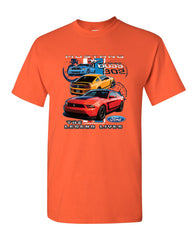 Ford Mustang The Legend Lives Hooded T-Shirt 0 Tee Shirt - Tee Hunt - 10