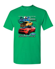 Ford Mustang The Legend Lives Hooded T-Shirt 0 Tee Shirt - Tee Hunt - 12