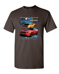 Ford Mustang The Legend Lives Hooded T-Shirt 0 Tee Shirt - Tee Hunt - 17
