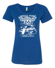 Route 66 America's Highway Women's T-Shirt The Mother Road Tee - Tee Hunt - 4