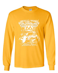 Route 66 America's Highway Long Sleeve T-Shirt The Mother Road - Tee Hunt - 10