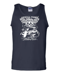Route 66 America's Highway Tank Top The Mother Road Muscle Shirt - Tee Hunt - 6
