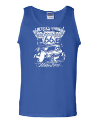 Route 66 America's Highway Tank Top The Mother Road Muscle Shirt - Tee Hunt - 3