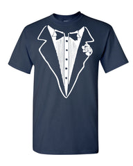 Tuxedo Funny T-Shirt Tux Bachelor Party Wedding Groom Tee Shirt - Tee Hunt - 5